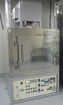 大型灰化炉(白金触媒脱臭脱煙装置付)