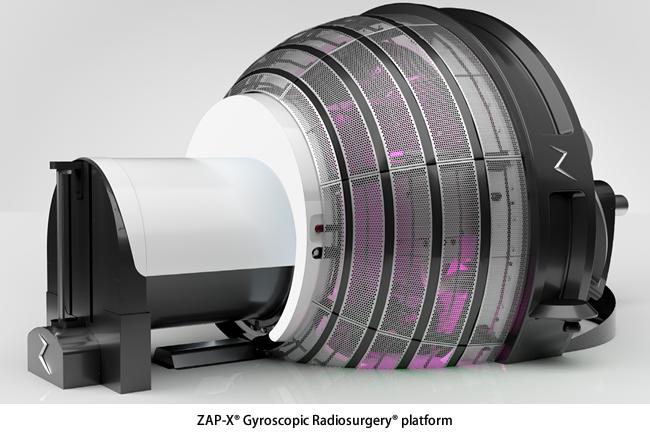 定位放射線治療装置「ZAP-X」
